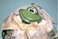 Russ Berrie Kathleen Kelly, Cherub #2062 Angel fairy frog w halo NEW