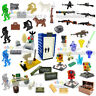 Military City SWAT Soldiers Army Weapon Gun Shield Fit  Minifigures Mega