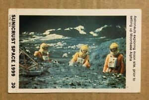 SPACE 1999  - SUNICRUST Card #30 Gerry Anderson RARE IN UK Made in Australia