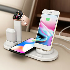 10W Fast Qi Wireless Charger For Iphone XS 3in1 Apple Watch for Airpods Cargador
