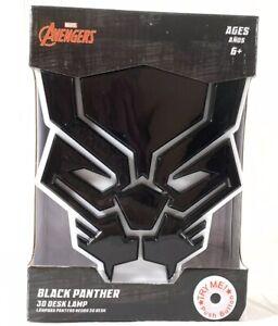 3D LED DESK LIGHT Marvel Comics Avengers BLACK PANTHER