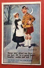CPA. Donald MAD GILL. Écossais. Kilt. Humour. Comique N°1645.