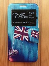 Funda case cover tapa (libro ventana) para Alcatel One Touch Pop 3 5.0