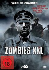 6 Zombie XXL Películas WAR OF THE APOCALYPSE Extinción PLAN DEAD Caja de DVD