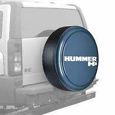 "33"" Hummer H3 Logo - Rigid Tire Cover - Painted - Slate Blue"