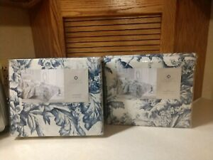 Hotel Collection Classic Botanical Toile KING Duvet Cover NEW and bedskirt x 2