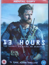 13 Hours: The Secret Soldiers of Benghazi (DVD, 2015) NEW SEALED PAL Rental Copy