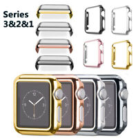 For Apple Watch Series 1/2/3 38/42MM Full Cover Snap On Case + Screen Protector