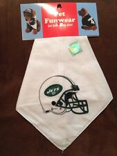 -New- New York Jets Official NFL Dog / Pet Bandanna Funwear
