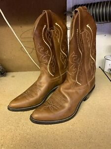 Justin Ladies Cowboy Boots 8 1/2 B Uk 6 1/2