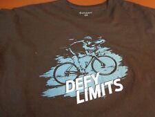 "Giant Bicycles Bikes Defy ""Defy Limits"" T Shirt   XL   H0"