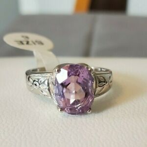 Traditions Jewelry Company Amethyst Large Oval Ring Size 6