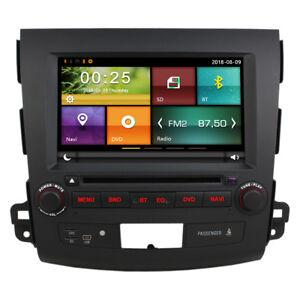 8 Inch Car DVD GPS Navigation headunit For Mitsubishi Outlander Free Camera