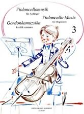 VIOLINCELLO MUSIC for Beginners Book 3 Complete