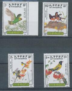 [P669] Ethiopia 1989 birds good set very fine MNH stamps