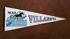 Villanova Wildcats Basketball 1985 NCAA Championship Final Four Vintage Pennant