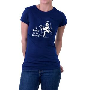 Hattie Jacques T-shirt Carry On Matron Doctor I Want to be Wooed Tee Sillytees