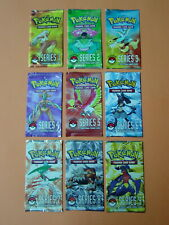 Pokemon - Complete Set of POP Series 1 - 9 Unopened Packs including Series 5