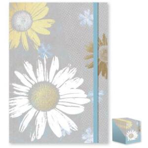 A5 Floral Sunflower Design Notebook Pad - Elegant Spring