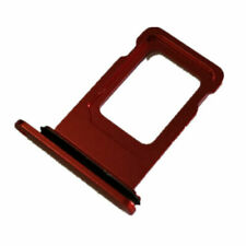 """Apple iPhone 11 6.1"""" Sim Card Holder Slot Sim Card Tray Replacement Red"""