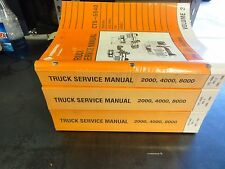 International Truck CTS-5540 Truck Service Manual  1995-1996  Vol I, II, III