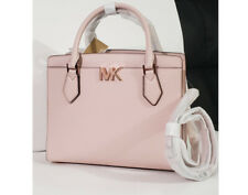 ❤️NWT Michael Kors Mott large satchel tote laptop shoulder bag Powder blush