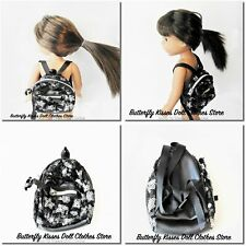 """Backpacks 14.5"""" Doll Clothes Accessory For American Girl Wellie Wishers Dolls"""