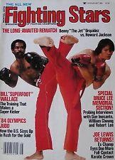 8/83 FIGHTING STARS BENNY URQUIDEZ DAN INOSANTO WILLIAM CHEUNG KARATE KUNG FU