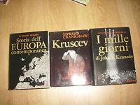 SCHELESINGER JR.-I MILLE GIORNI DI KENNEDY/ CRANKSHAW - KRUSCEV / STORIA (BR)