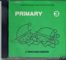 YAMAHA MUSIC SCHOOL CD - PRIMARY 3 [a4]