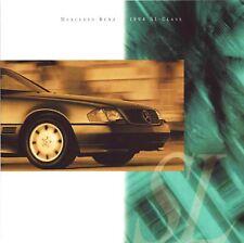 1994 MERCEDES-BENZ SL CLASS BROCHURE -SL320-SL500-SL600 -ROADSTER CONVERTIBLE