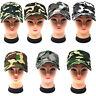 Cappello visiera sole unisex militare mimetico camouflage esercito navy mimetica