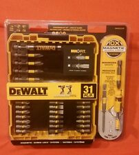 DEWALT 31 Piece Screwdriving Bit Set DWA2SLS31HP 10x Magnetic Screw Lock