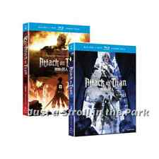 Attack on Titan Anime Series Complete Part 1 & 2 Box DVD / BluRay Set(s) NEW!