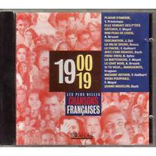 CD Les plus belles chansons francaises 1900 - 1919