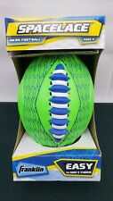 New Franklin Kids Spacelace Micro Easy Grip Football