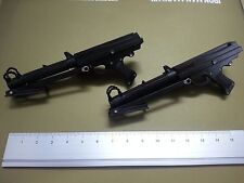 Sideshow 1/6 Star Wars Clone Trooper 2 x DC-15S Rifle Blaster Gun Black Color