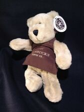 Starbucks Plush Bearista Bear Pike Place Market Brown Apron with Tag 2002