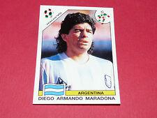 224 MARADONA ARGENTINA ITALIA 90 FOOTBALL PANINI WORLD CUP STORY 1990 SONRIC'S