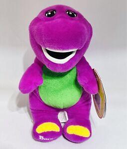 "Fisher-Price Barney Buddies Barney the Dinosaur 8"" Plush Stuffed Animal New"