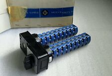 KRAUS & NAIMER D118 DUAL ROTARY SWITCH 6-POSITION 6-CONTACT PER NEW $499