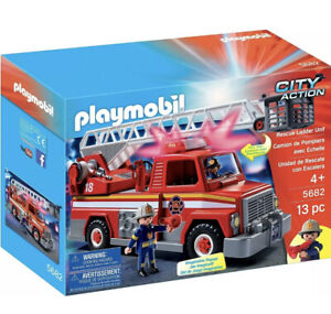 Playmobil 5682 City Action Fire Rescue Ladder Unit