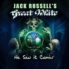 He Saw It Coming - Jack Russell's Great White 8024391077122 (CD Used Very Good)