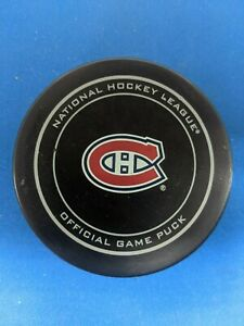 NHL MONTREAL CANADIENS 2015 STANLEY CUP SHER-WOOD GAME PUCK
