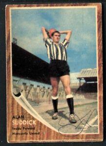 A&BC Gum, FOOTBALLERS, Make A Photo, 1963, Alan Suddick, Newcastle United, #75