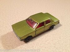 Matchbox Lesney #55 (England) Superfast 1979 Ford Cortina / Taunus Green Diecast