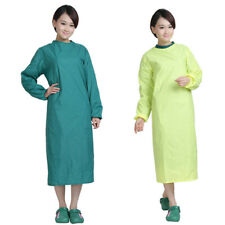 1pc Surgical Scrub Gown Reusable Operating Coat Isolation Surgeon Medical Gown
