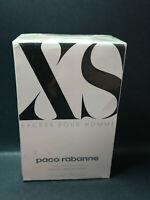 Paco Rabanne XS EXCESS 50 ml pour homme Eau Toilette Spray Men EDT Vintage