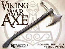 VIKING WAR AXE -- sca/larp/medieval/cosplay/lotr/norse/dwarven/sword/hammer NEW