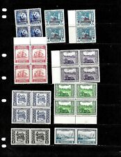 PARAGUAY: NICE 'VINTAGE'   STAMP COLLECTION DISPLAYED ON 4 SHEETS.